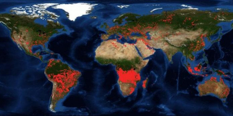Africa's Forest is Buring more than the Amazon But Nobody Cares More Fires Now Burning in Angola, DR Congo Than Amazon Blazes burning in the Amazon have put the World on notice, but Brazil is actually 3rd in the world in wildfires over the last 48 hours, according to MODIS satellite data analyzed by Weather Source. Weather Source has recorded 6,902 fires in Angola over the past 48 hours, compared to 3,395 in the Democratic Republic of Congo and 2,127 in Brazil. Bit it seems nobody cares about the fires burning in Africa right now